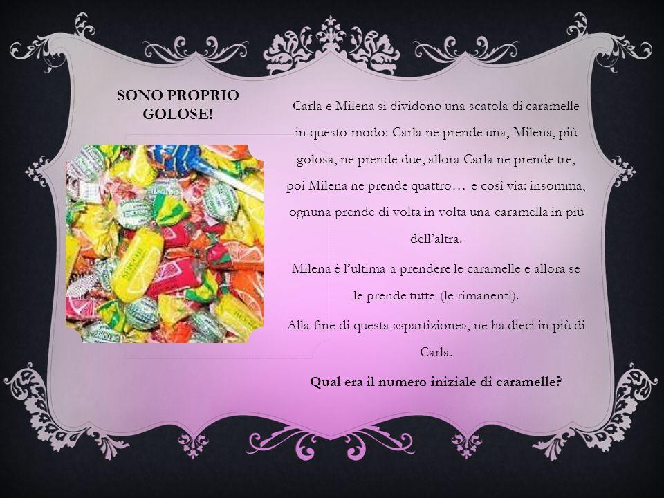 SONO PROPRIO GOLOSE.