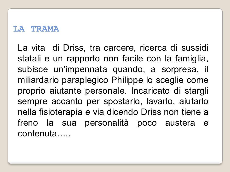 5. PROVA A RIORDINARE LE BATTUTE DEL DIALOGO TRA DRISS E PHILIPPE: