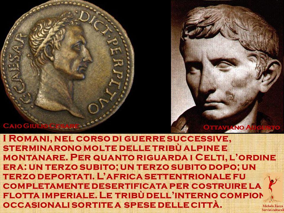 I Romani, nel corso di guerre successive, sterminarono molte delle tribù alpine e montanare.