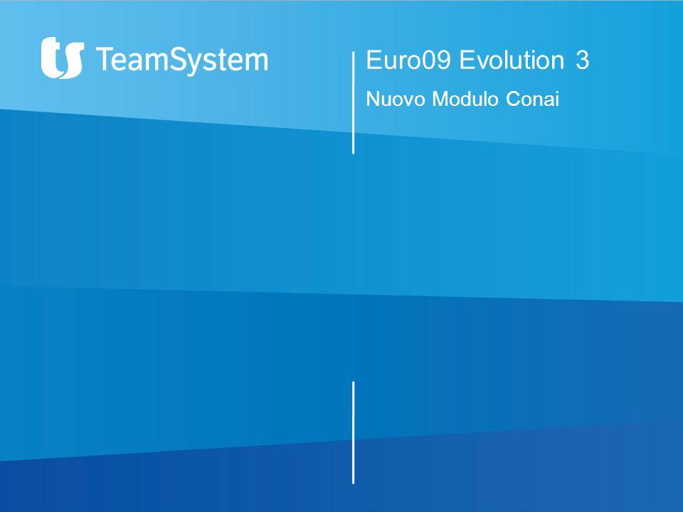Euro09 Evolution 3 Nuovo Modulo Conai