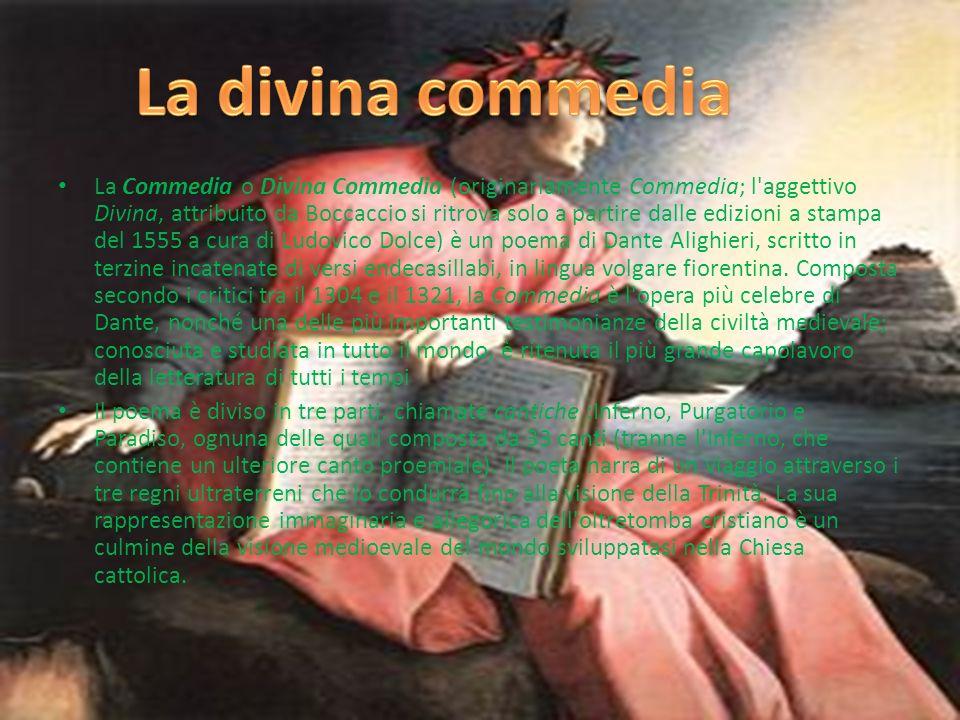 Dante Alighieri, detto semplicemente Dante, nato a Firenze tra il 22 maggio ed il 13 giugno 1265 e morto a Ravenna il 14 settembre 1321, è stato un po