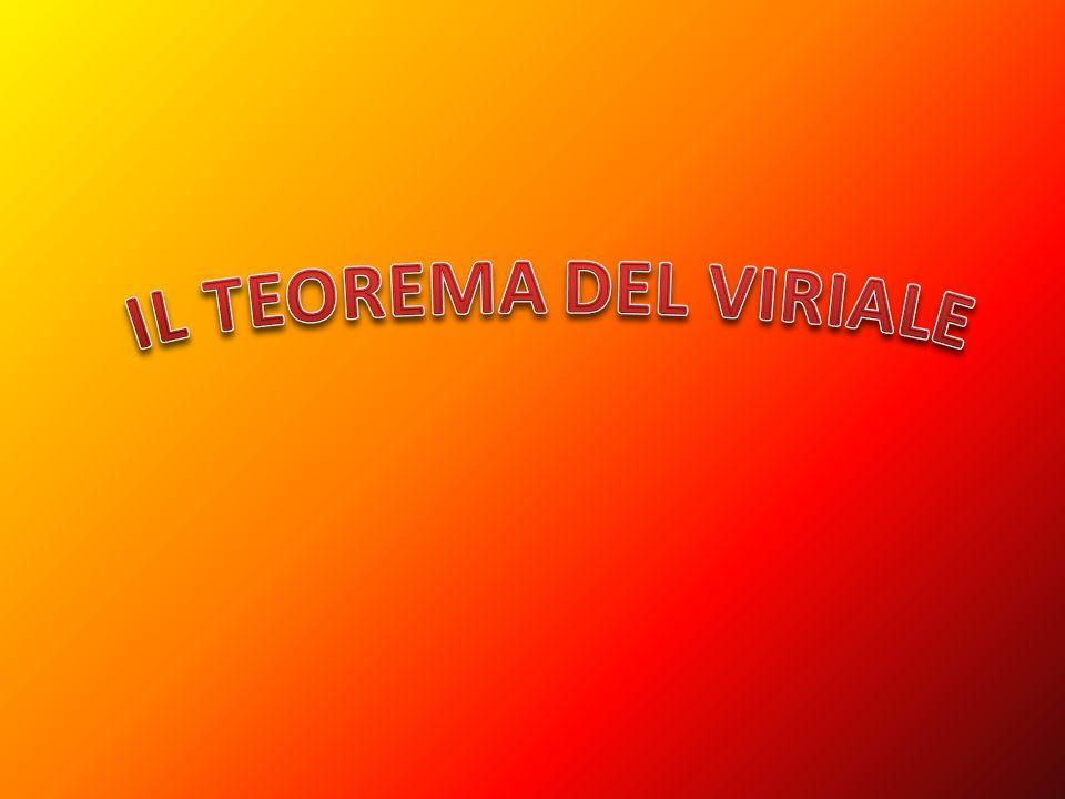 Il teorema del viriale è una proposizione che lega la media temporale dell energia cinetica e dell energia potenziale di un sistema stabile di N particelle e che ha importanti risvolti in diverse branche della fisica.