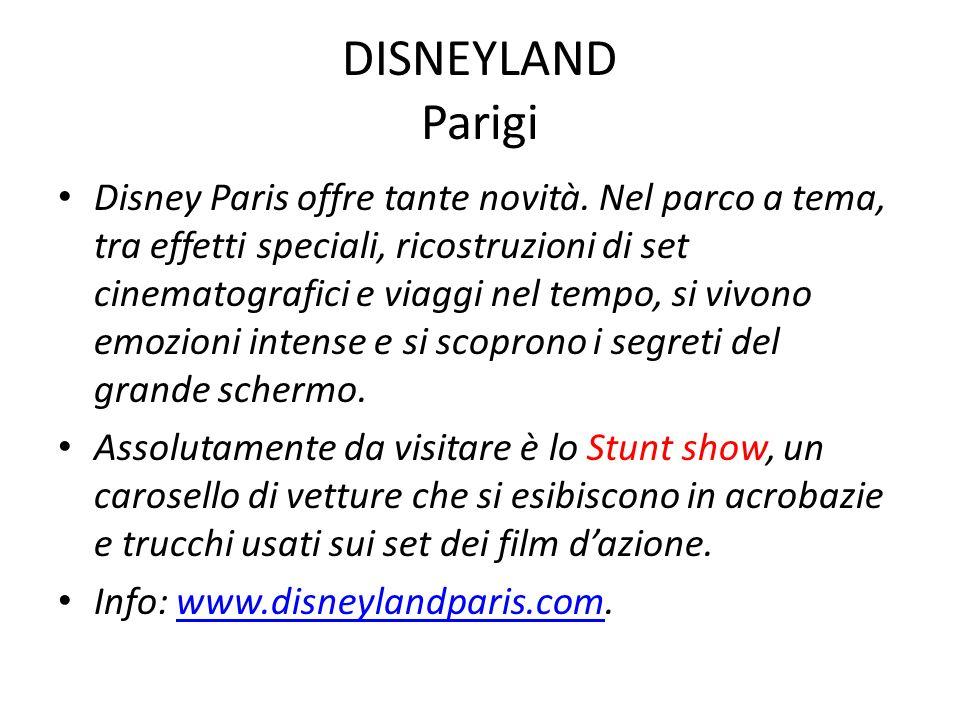 DISNEYLAND Parigi Disney Paris offre tante novità. Nel parco a tema, tra effetti speciali, ricostruzioni di set cinematografici e viaggi nel tempo, si