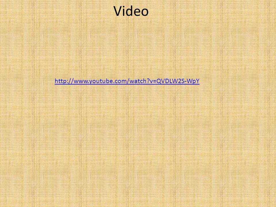 Video http://www.youtube.com/watch?v=QVDLW2S-WpY