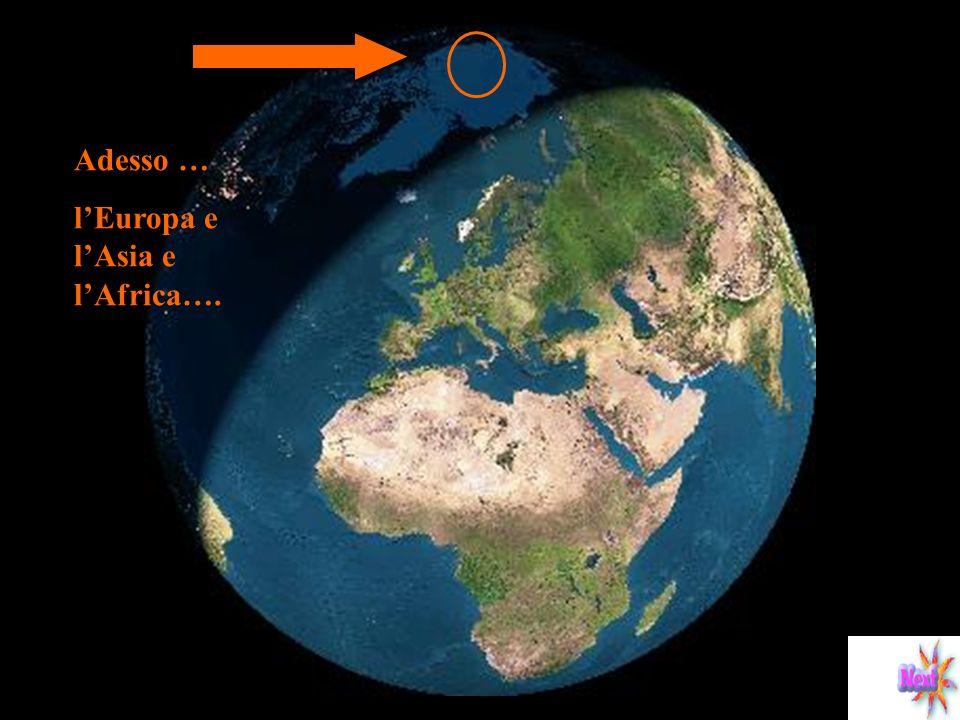 Per tutte le 24 ore della rotazione la zona polare rimane al buio qualunque sia la parte che la terra rivolga al sole Adesso le Americhe …. 21 dicembr