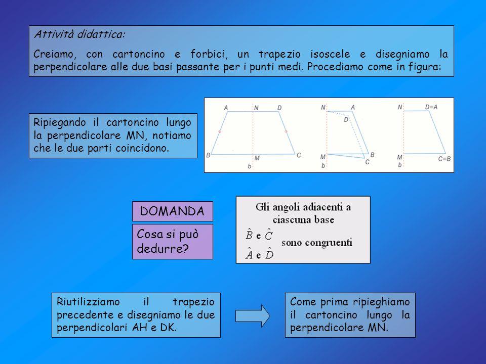 Definizione: Il rombo è un parallelogramma avente tutti e quattro i lati congruenti.