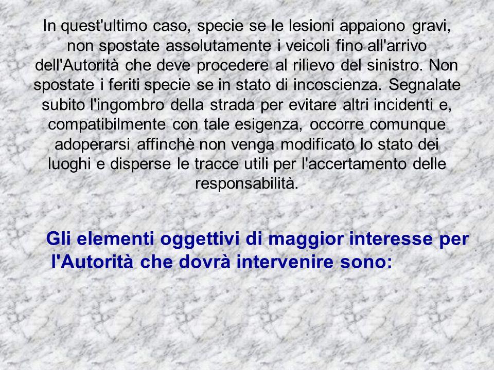 Art.156 Uso dei dispositivi di segnalazione acustica 1.