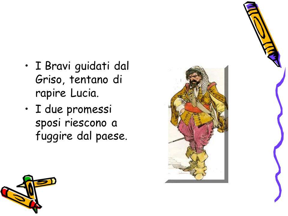 Con laiuto di frate Cristoforo Lucia e la madre Agnese si rifugiano in un monastero di Monza; mentre Renzo si reca a Milano