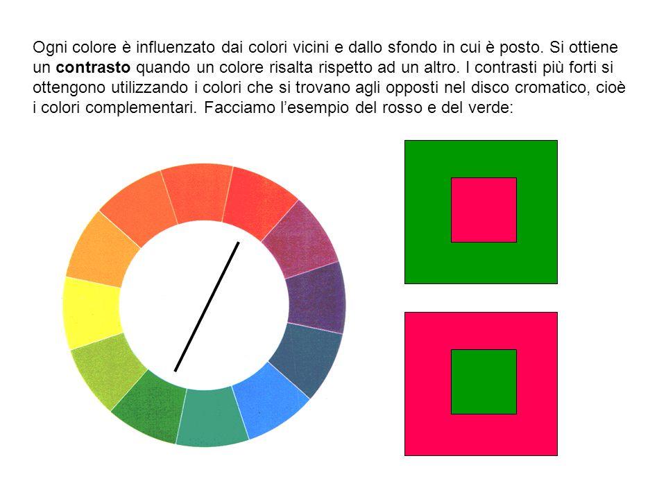 Tavola di gradazione dei colori