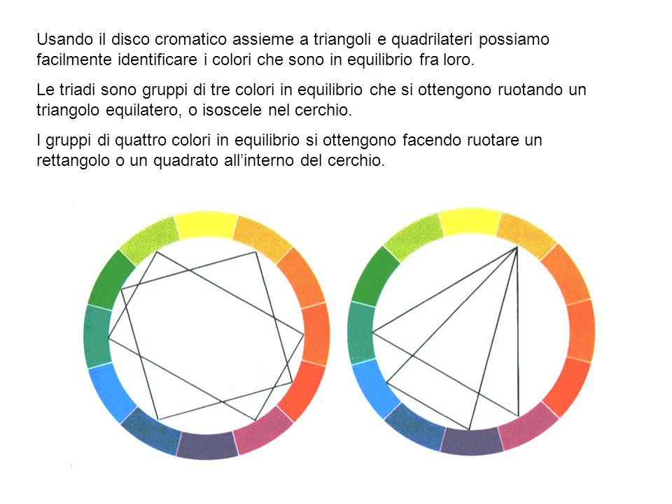 Ogni colore è influenzato dai colori vicini e dallo sfondo in cui è posto. Si ottiene un contrasto quando un colore risalta rispetto ad un altro. I co