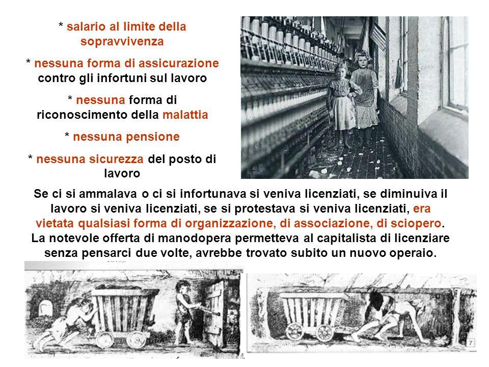 Domande 1- Quali furono le conseguenze sociali dellindustrializzazione.