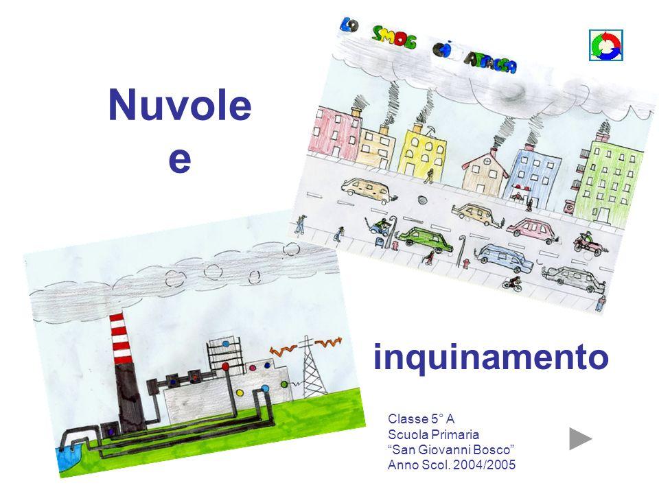 Nuvole e inquinamento Classe 5° A Scuola Primaria San Giovanni Bosco Anno Scol. 2004/2005