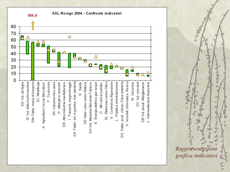 Rappresentazione grafica indicatori