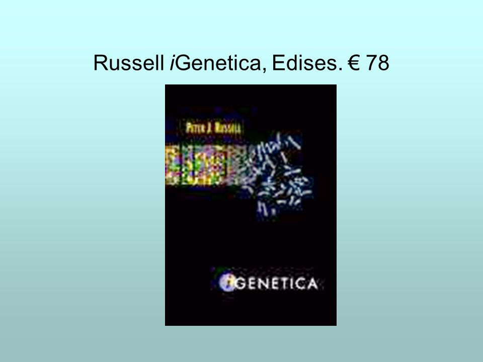 Russell iGenetica, Edises. 78