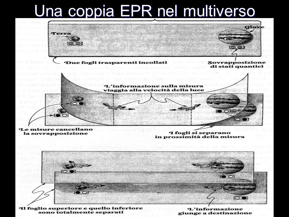 Una coppia EPR nel multiverso