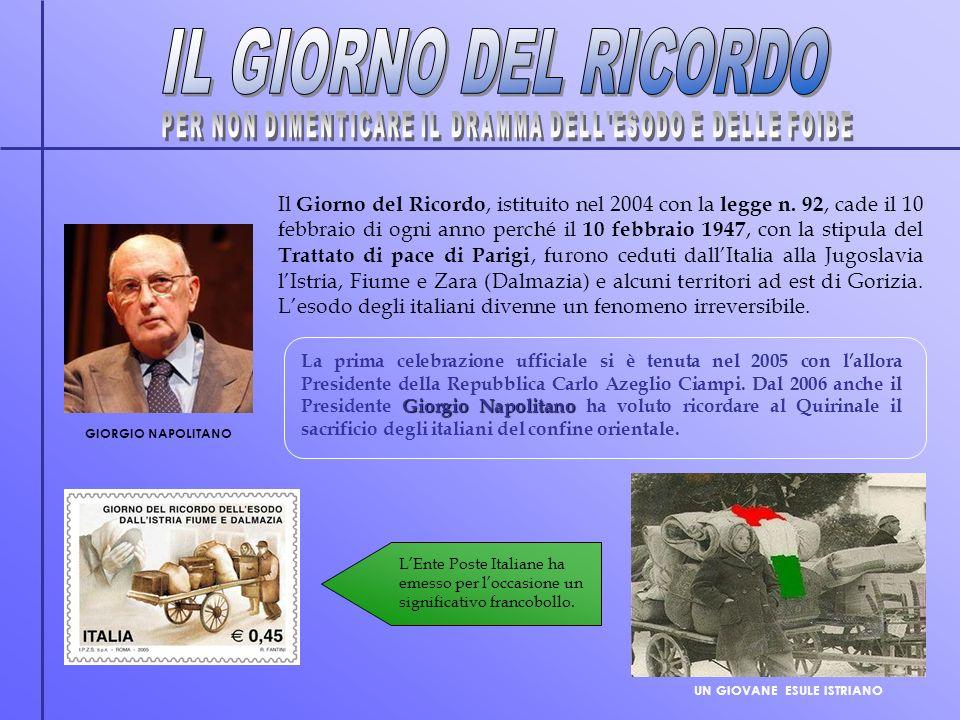 Giorgio Napolitano La prima celebrazione ufficiale si è tenuta nel 2005 con lallora Presidente della Repubblica Carlo Azeglio Ciampi. Dal 2006 anche i