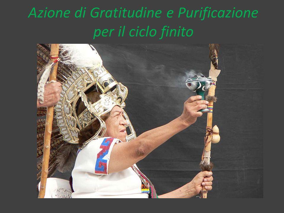 Azione di Gratitudine e Purificazione per il ciclo finito