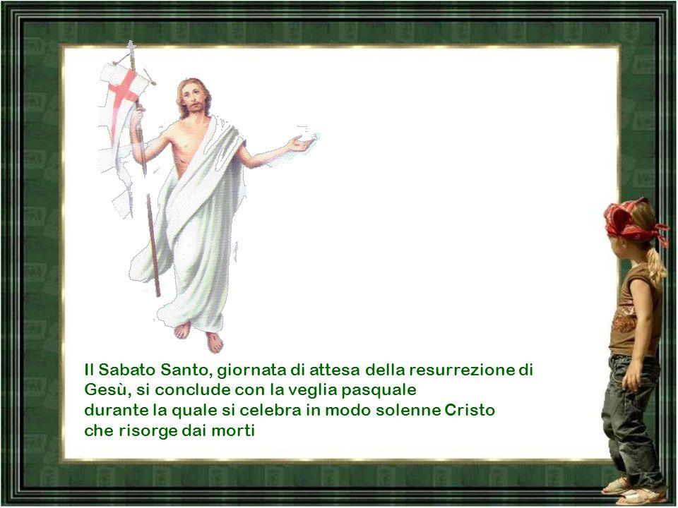 Il Venerdì santo si celebra la passione e morte in croce di Gesù. In questo giorno non vi è la celebrazione della Messa, ma una liturgia della Parola