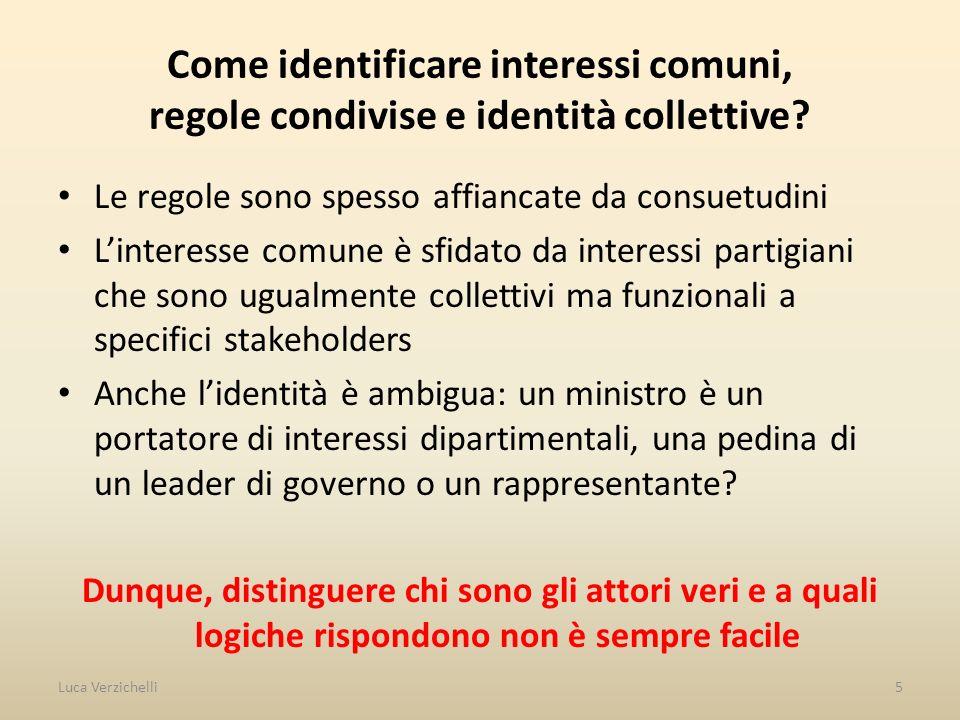 Come identificare interessi comuni, regole condivise e identità collettive.