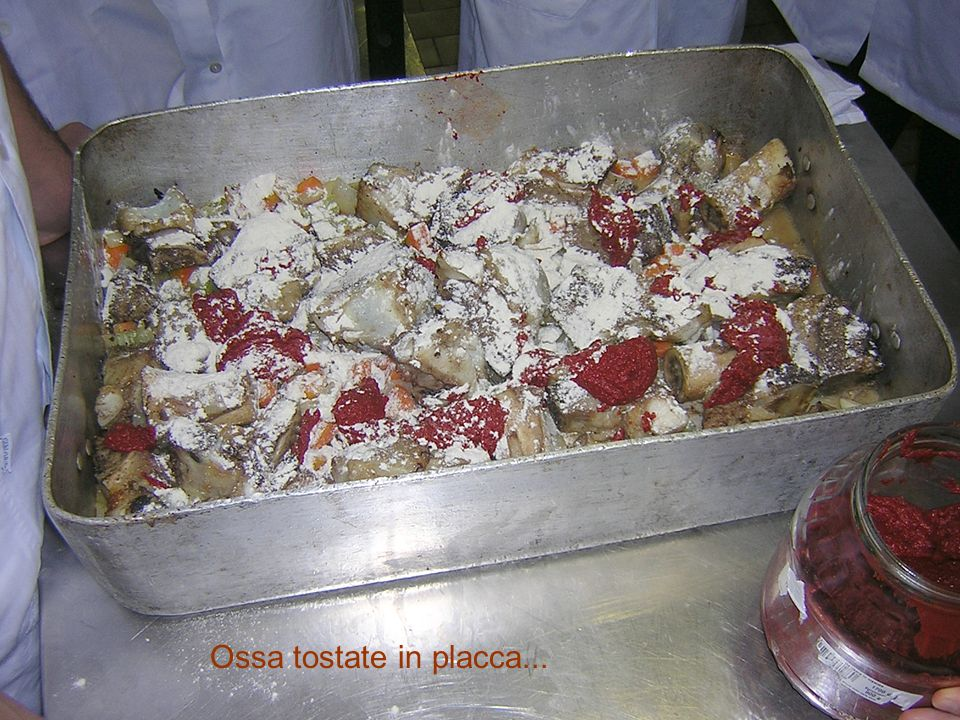 Ossa tostate in placca...