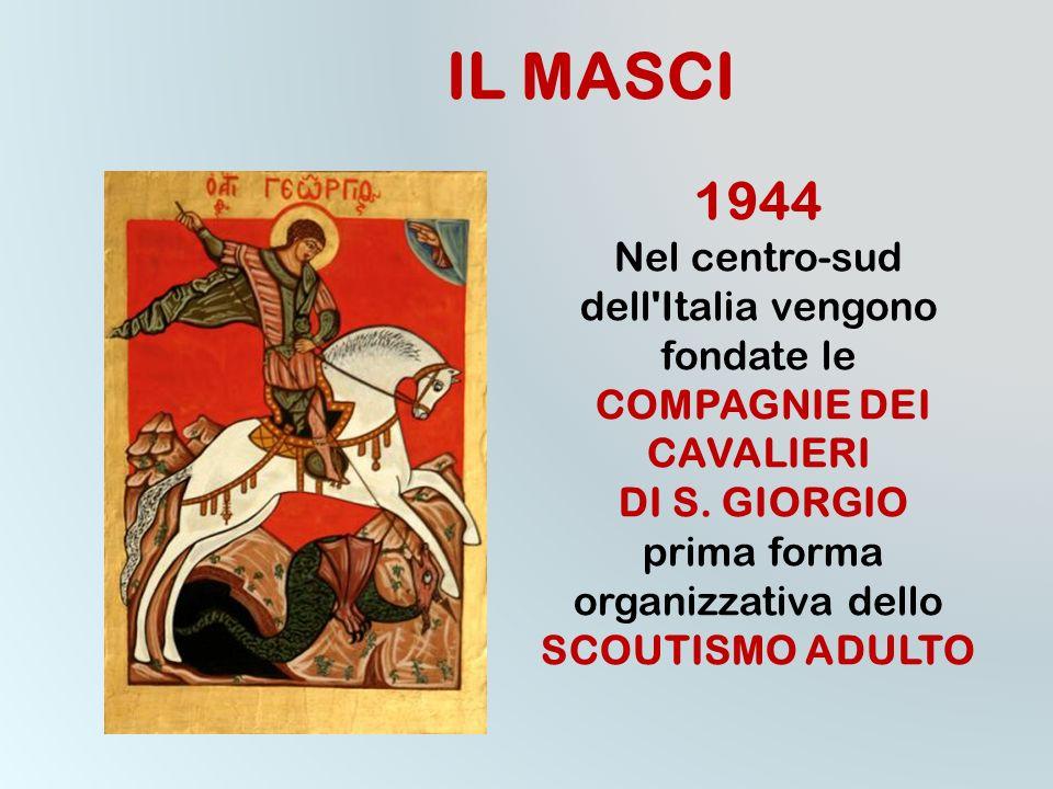 Lassociazione mondiale di cui fa parte il MASCI è ISGF (International Scout and Guide Fellowship)