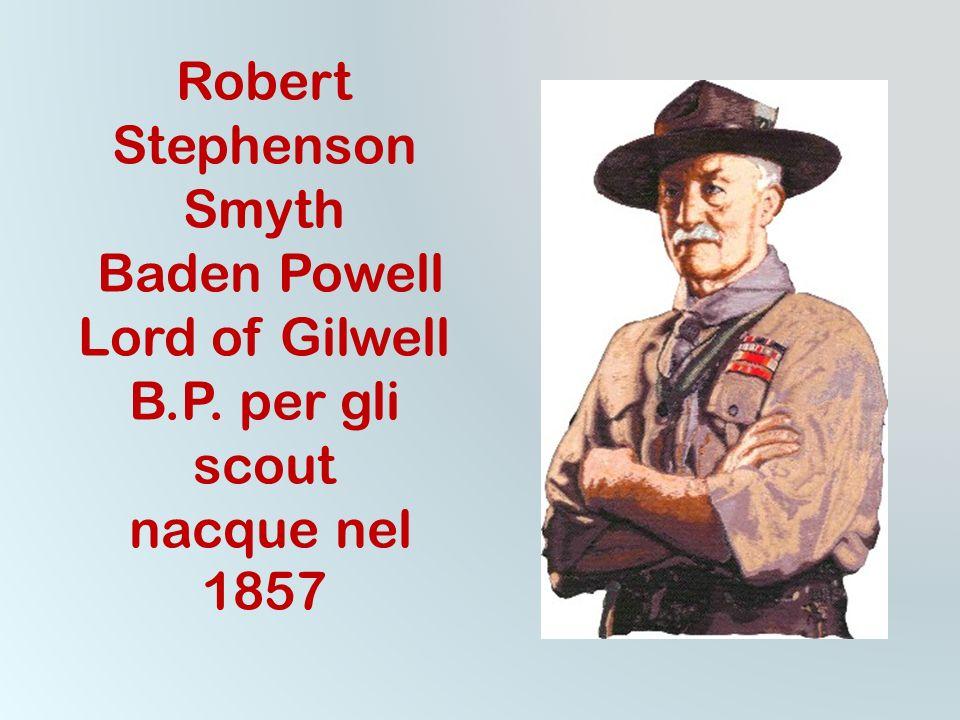 propone la formazione integrale della persona secondo i principi ed i valori definiti dal fondatore Lord Robert Baden-Powell