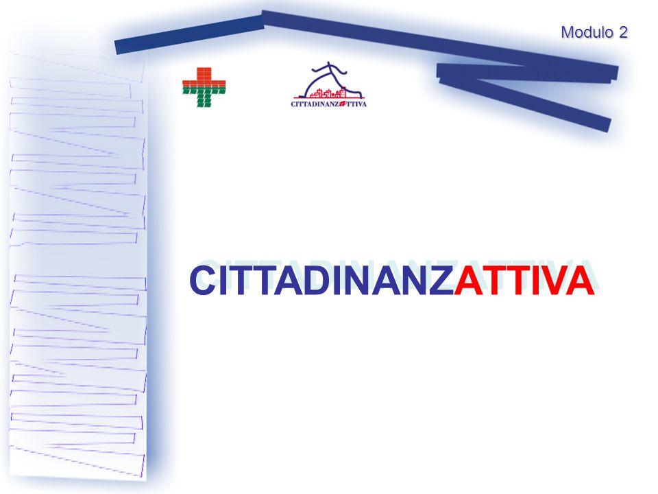 CITTADINANZATTIVA Modulo 2