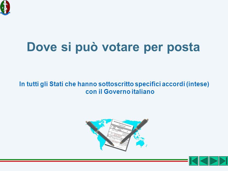 Chi può votare allestero per posta I cittadini italiani iscritti nelle liste elettorali della Circoscrizione estero Cioè gli iscritti all AIRE