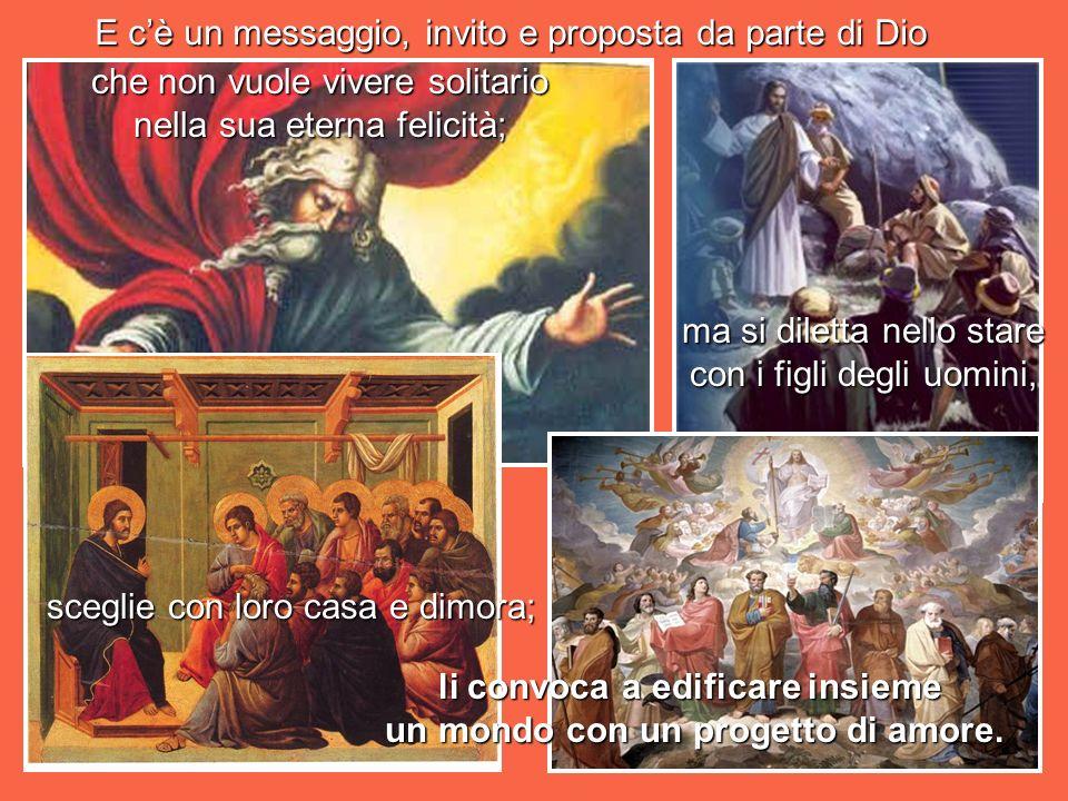 Cè un messaggio di contemplazione gioiosa in queste immagini di Dio creatore in dialogo con la sua stessa sapienza infinita.