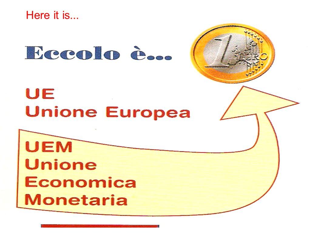 Le monete EURO si presentano così: The European coins are this way: Faccia anteriore In front La faccia anteriore è uguale in tutti gli Stati che hanno adottato l Euro come moneta.