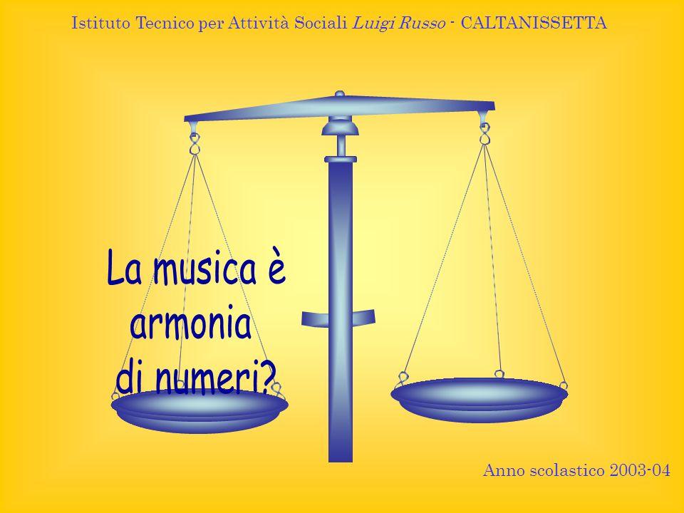 Anno scolastico 2003-04 Istituto Tecnico per Attività Sociali Luigi Russo - CALTANISSETTA