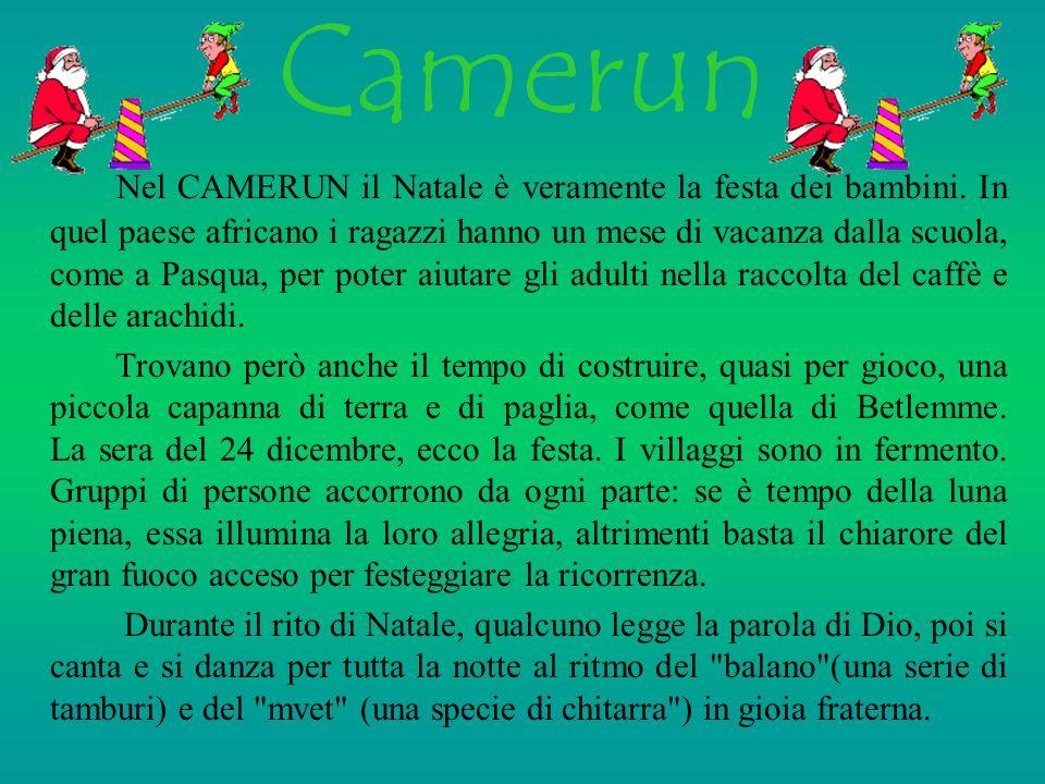 A F R I C A Camerun Egitto