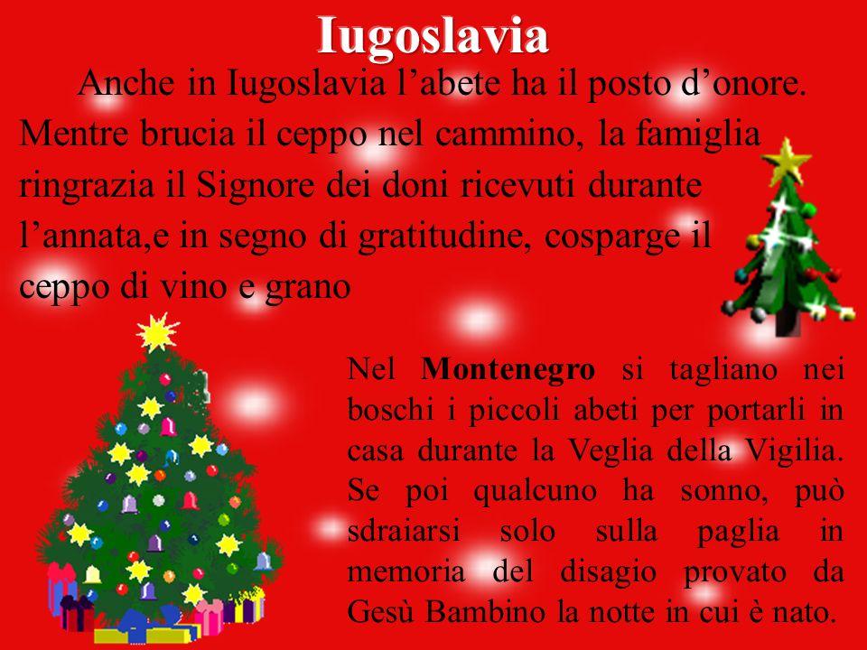 Come in tutti i Paesi cristiani, Natale è la festa dei bambini che termina la notte dell'Epifania, il 6 Gennaio, durante la quale si canta e si danza