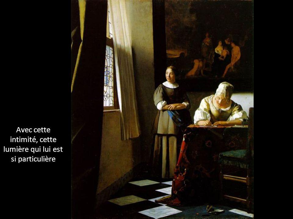 La peinture de Vermeer est une instantanée photographique.