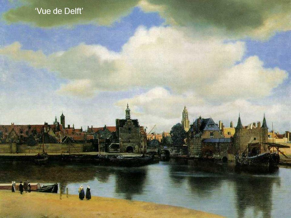 Vermeer tel un paparazzi semble surprendre