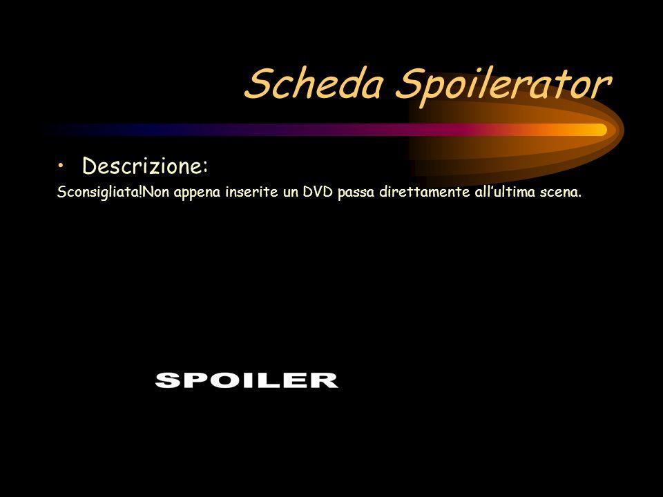 Scheda Cip Ciop Descrizione: Il PC leggerà solo CD della Disney Interactive.