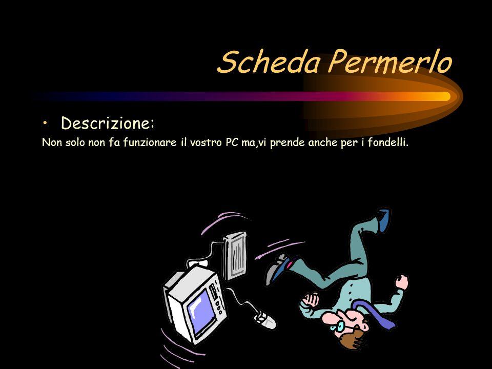 Scheda Spoilerator Descrizione: Sconsigliata!Non appena inserite un DVD passa direttamente allultima scena.