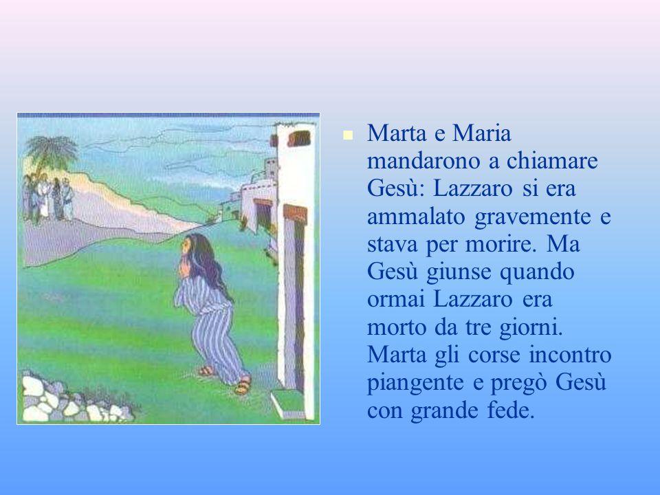 SANTA MARTA SANTA MARTA Gesù voleva molto bene a Marta, a Maria sua sorella e a Lazzaro. La festa di santa Marta si celebra il 29 giugno Marta, la sor