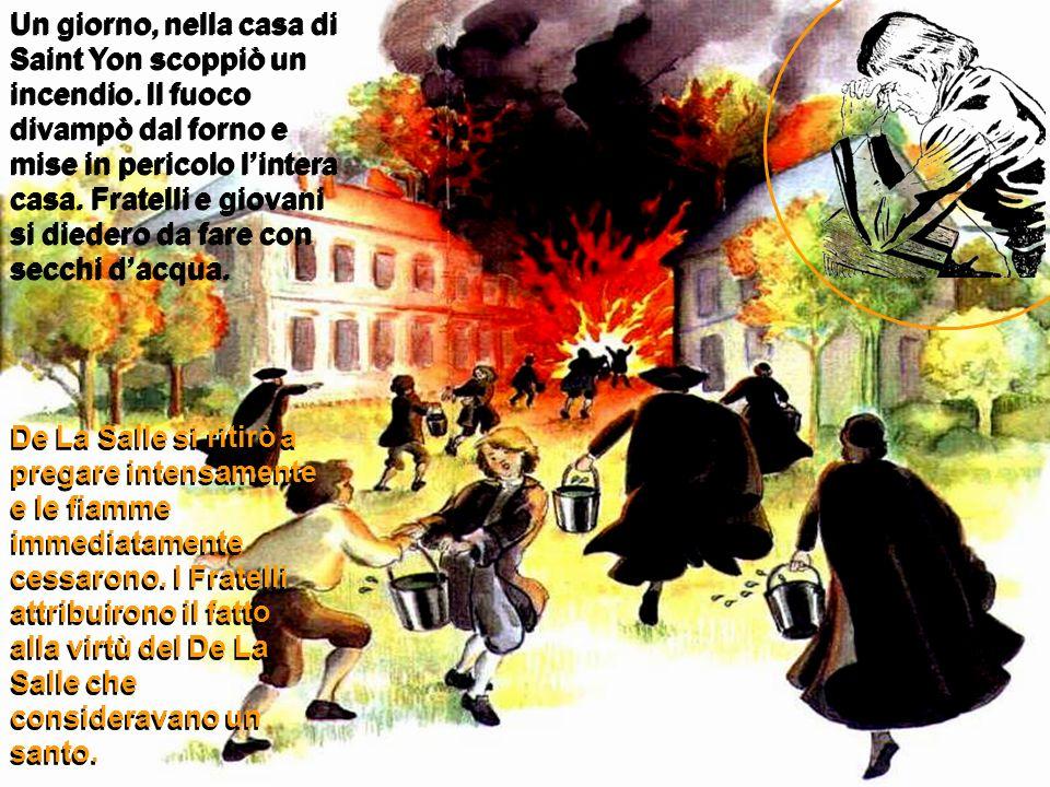 Da questo momento Giovanni Battista fu il Fratello più obbediente ed umile.