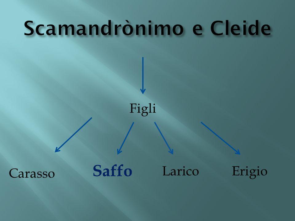 Scamandronimo era il padre di Saffo.