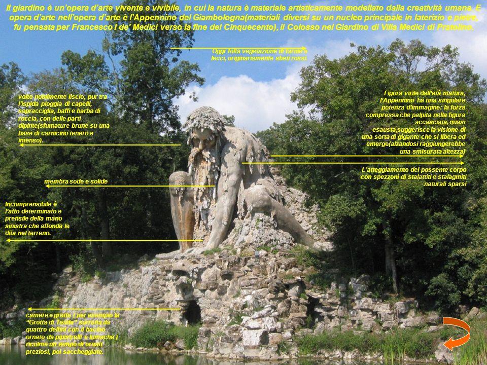 Il giardino è unopera darte vivente e vivibile, in cui la natura è materiale artisticamente modellato dalla creatività umana.