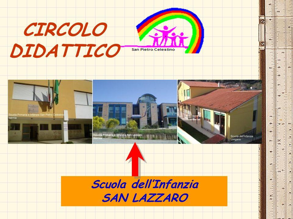 Scuola dellInfanzia SAN LAZZARO CIRCOLO DIDATTICO