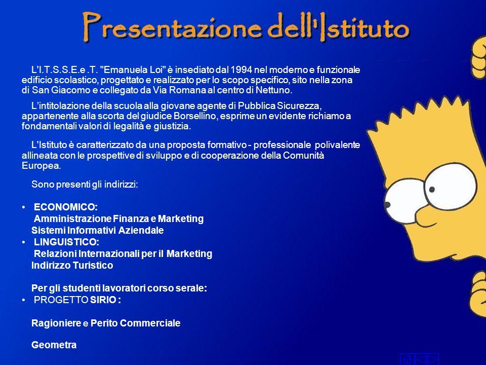 Presentazione dell'Istituto L'I.T.S.S.E.e.T.