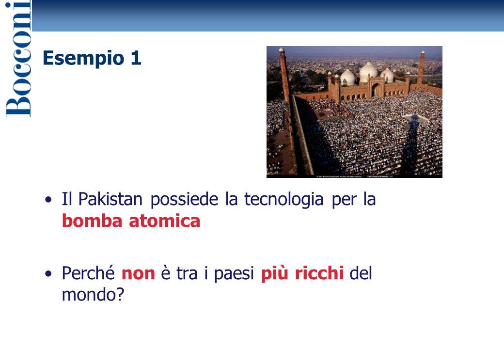 Il Pakistan possiede la tecnologia per la bomba atomica Perché non è tra i paesi più ricchi del mondo.