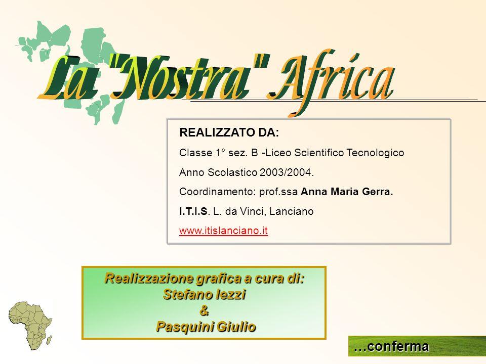 REALIZZATO DA: Classe 1° sez. B -Liceo Scientifico Tecnologico Anno Scolastico 2003/2004. Coordinamento: prof.ssa Anna Maria Gerra. I.T.I.S. L. da Vin