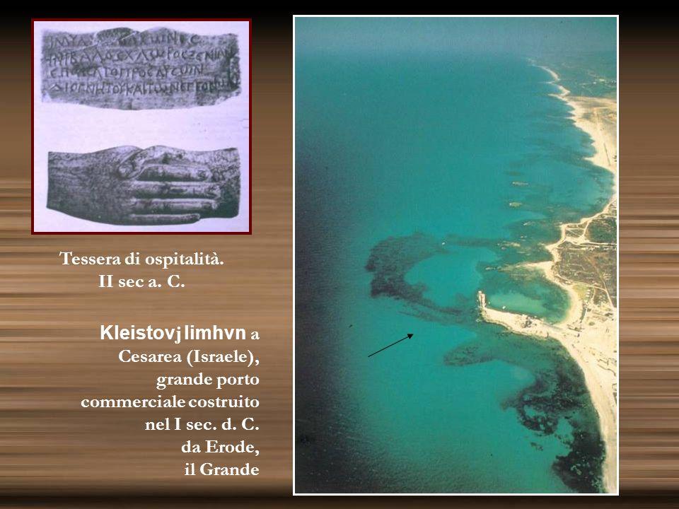 Rinvenimento di due navi fenicie dellVIII sec. a.C. al largo di Ascalona (Israele)