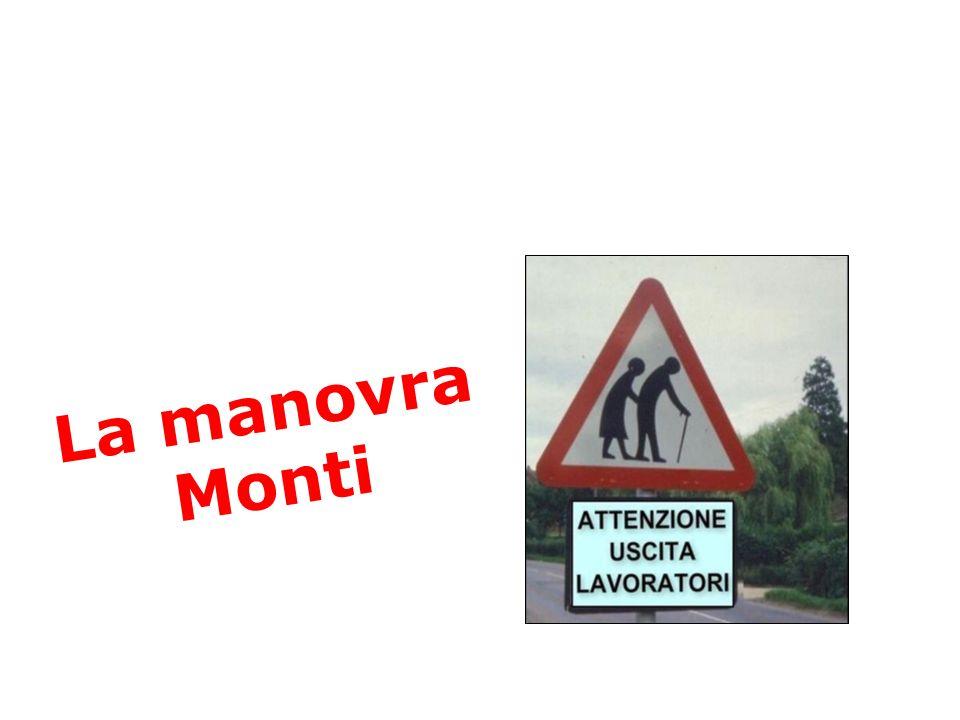 La manovra Monti