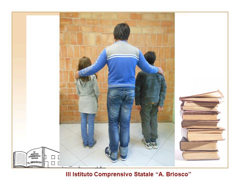 III Istituto Comprensivo Statale A. Briosco Tre studenti della stessa classe prima (2001, 1998, 2001). » classe.