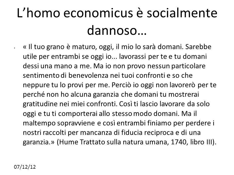 07/12/12 Lhomo economicus è socialmente dannoso… « Il tuo grano è maturo, oggi, il mio lo sarà domani. Sarebbe utile per entrambi se oggi io... lavora