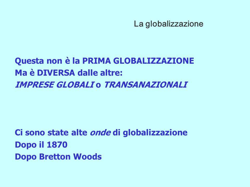 GLOBALIZZAZIONE CONSIDERAZIONI CONCLUSIVE 2 LE NUOVE PRIORITÀ (Sicurezza, Ambiente, Estensione Benessere, Coesione Sociale) OCCORRE TROVARE IL SENTIERO PER UNA NUOVA REGOLAZIONE ECONOMICO-SOCIALE